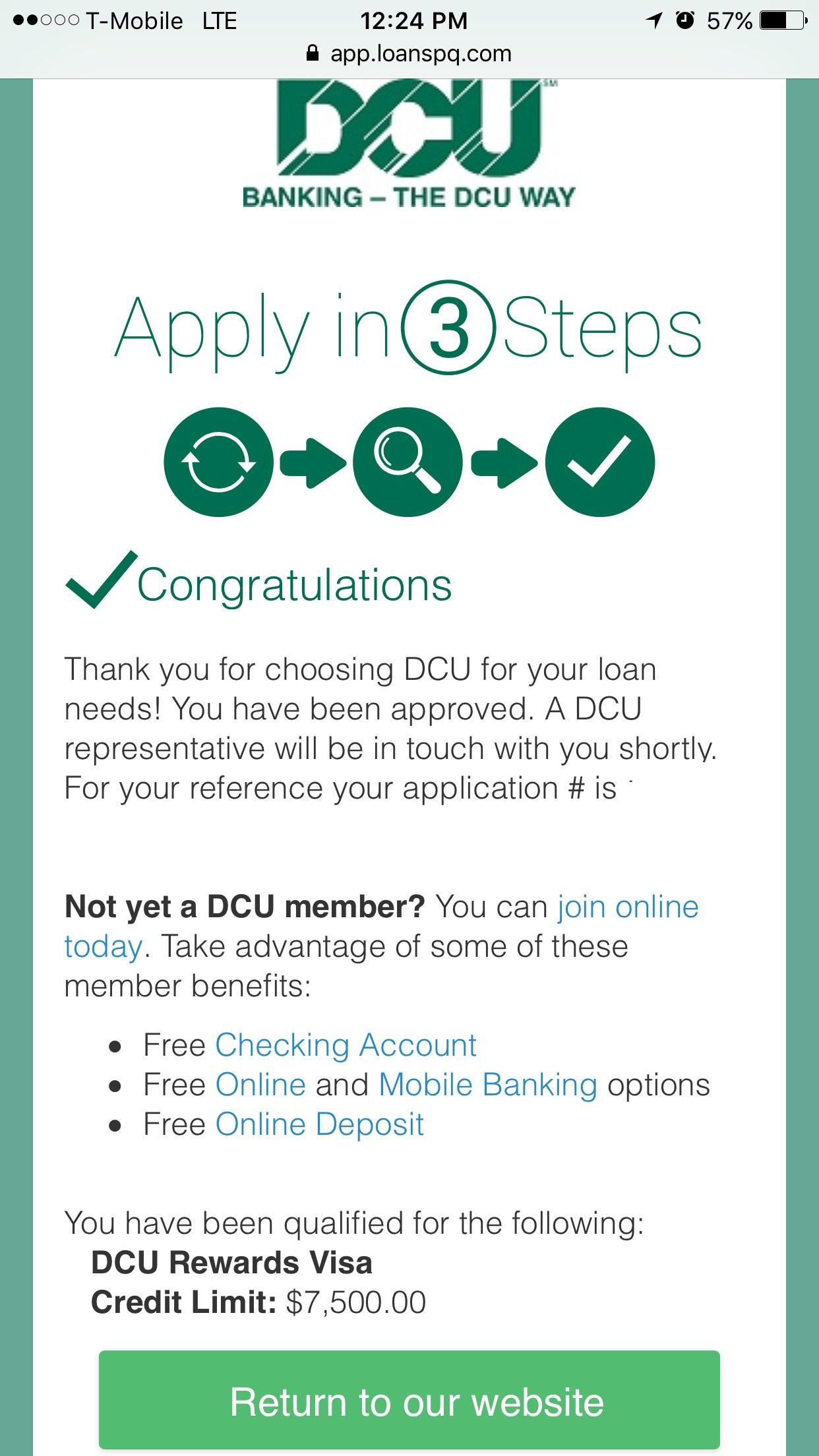 Dcu Car Loan >> DCU Visa approval - myFICO® Forums - 4925881