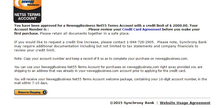 Third Times The Charm Newegg Net55 Approved - myFICO® Forums - 4932324