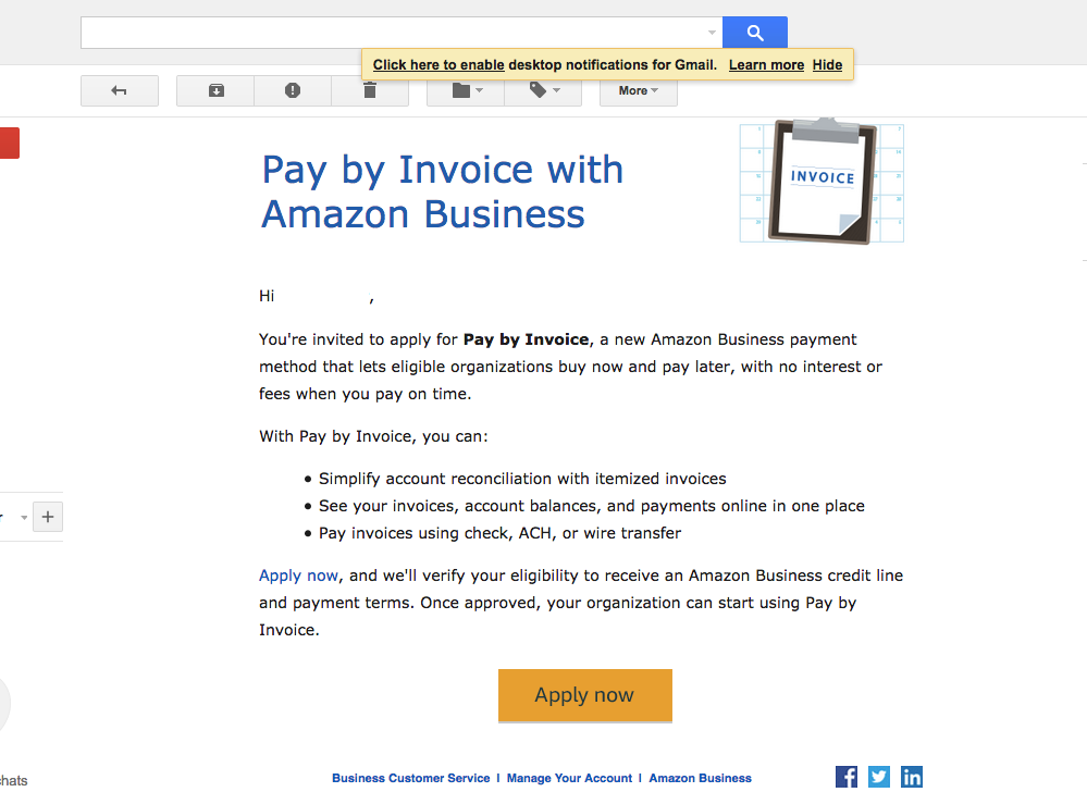 Amazon Pay By Invoice - myFICO® Forums - 4934446