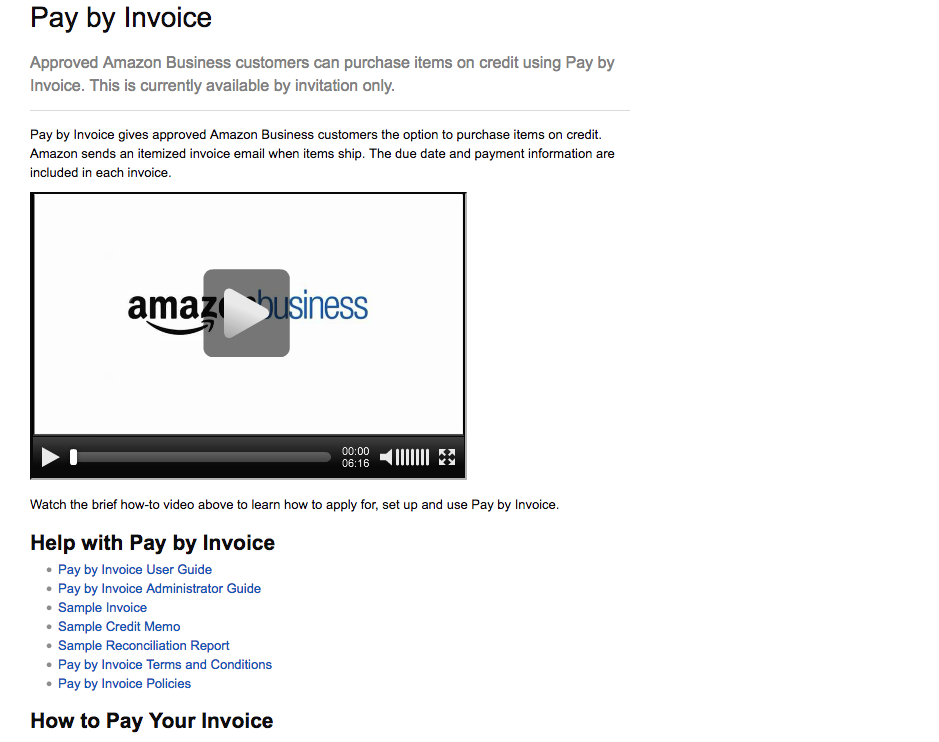 Amazon Pay By Invoice MyFICO Forums - Pay via invoice