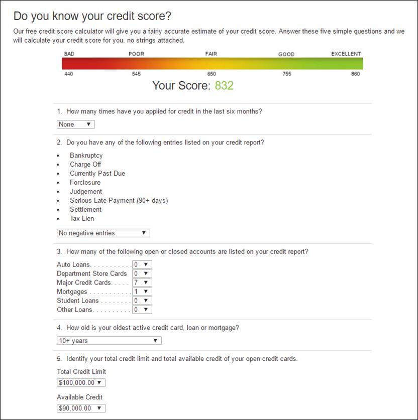 Fico Score Simulator And Fico Mortgage Score Rebui