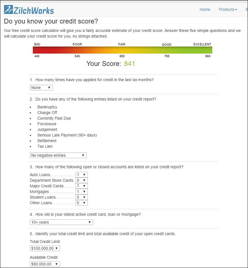 fico score simulator and fico mortgage score rebui page 2