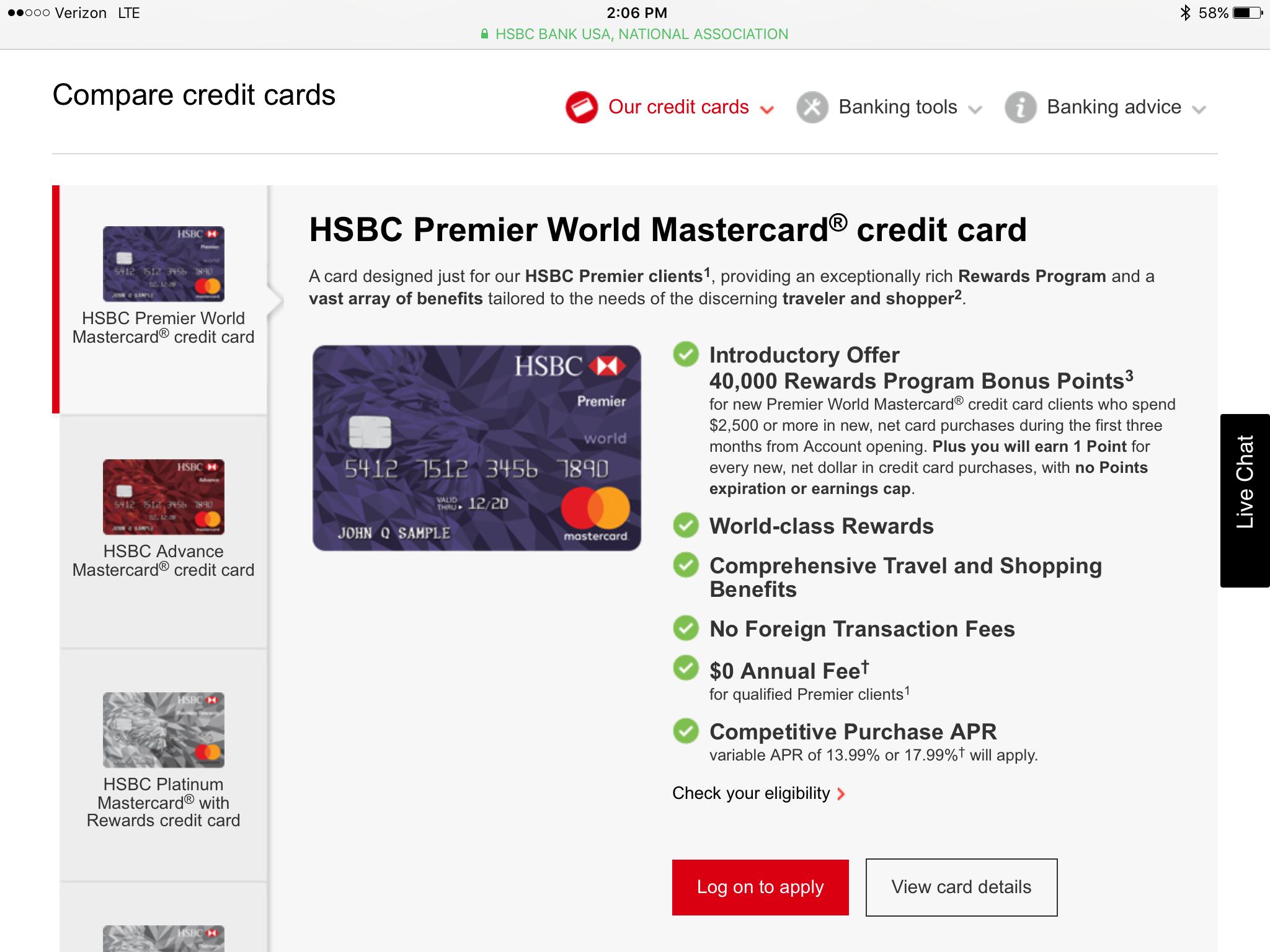 HSBC Platinum MC with Rewards,,,FREE CANDY FOLKS