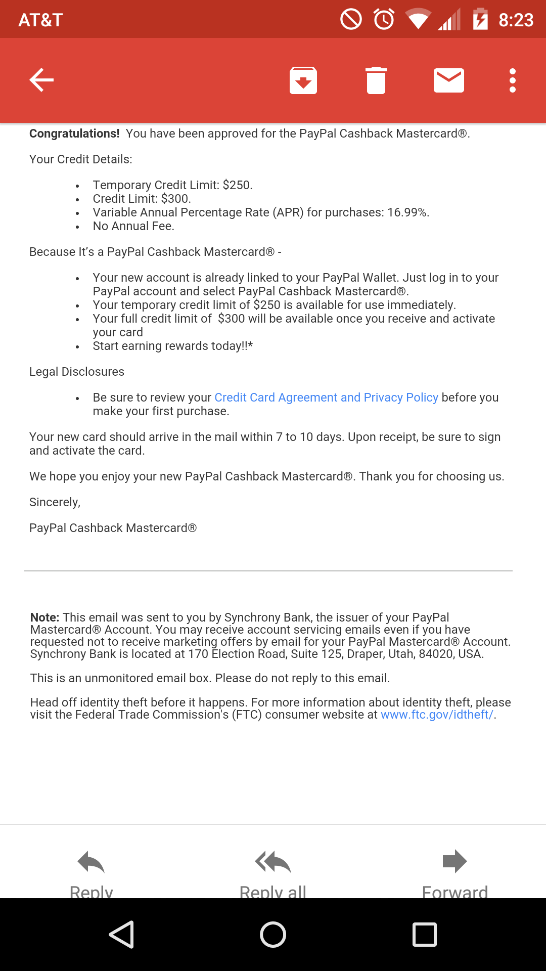 Paypal 2% Mastercard now publicly available - Page 6
