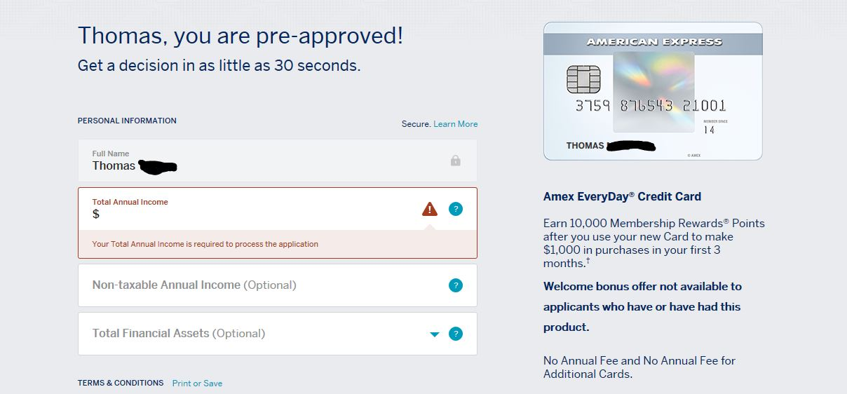 Amex Cardmember Pre-approvals/Prequalified Offers - Page 12 ...