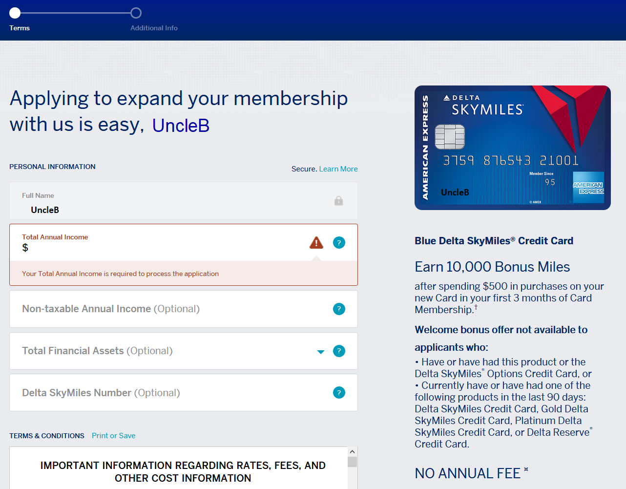 Delta Amex Login >> Amex Cardmember Pre Approvals Prequalified Offers Myfico Forums