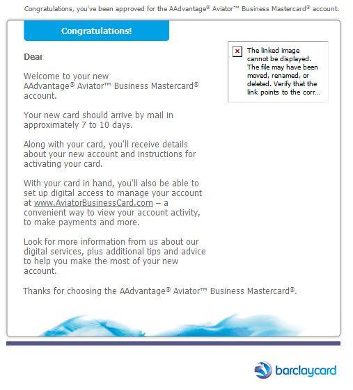 Approved barclay aadvantage aviator business myfico forums 5082344 10 30 2017 9 36 47 pmg colourmoves