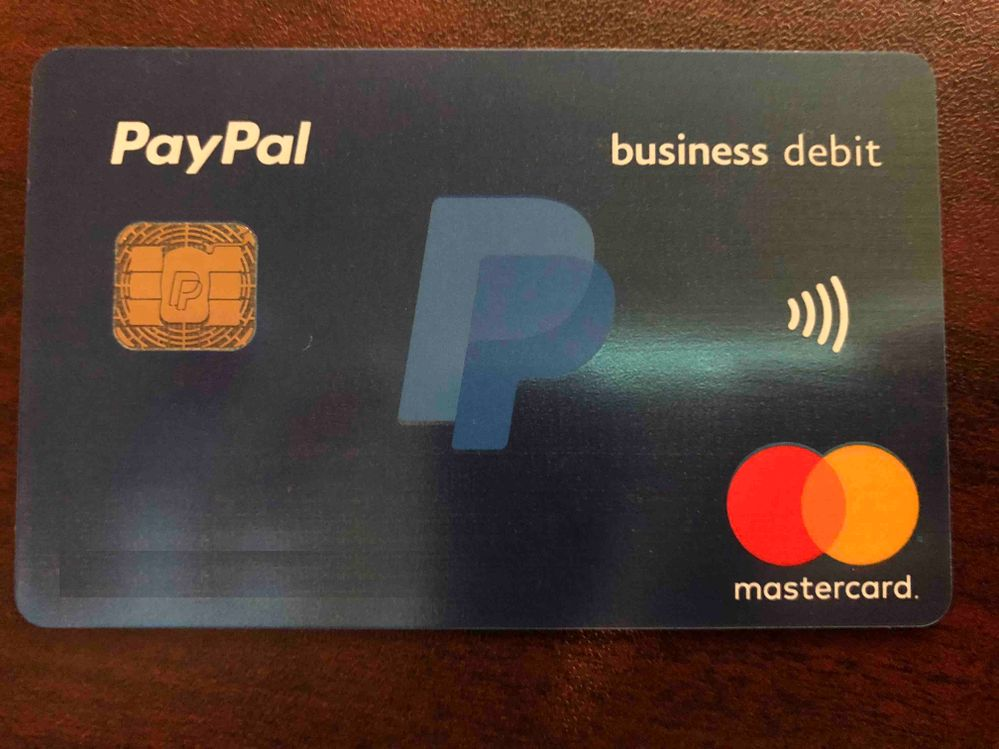 Enchanting debit card business elaboration business card ideas just got my new paypal debit mastercard and might myfico colourmoves