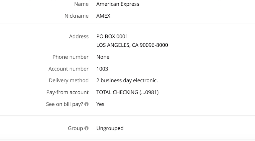 Chase Bill Pay for American Express Platinum - myFICO