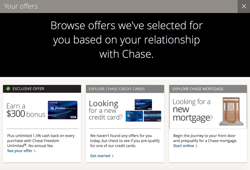 Chase Prequalified Offers Myfico Forums 5156386
