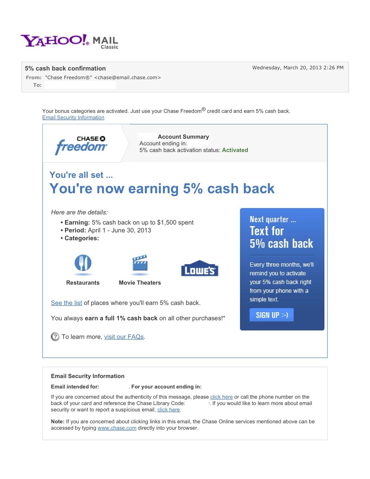 5% cash back confirmation - Yahoo! Mail.jpg