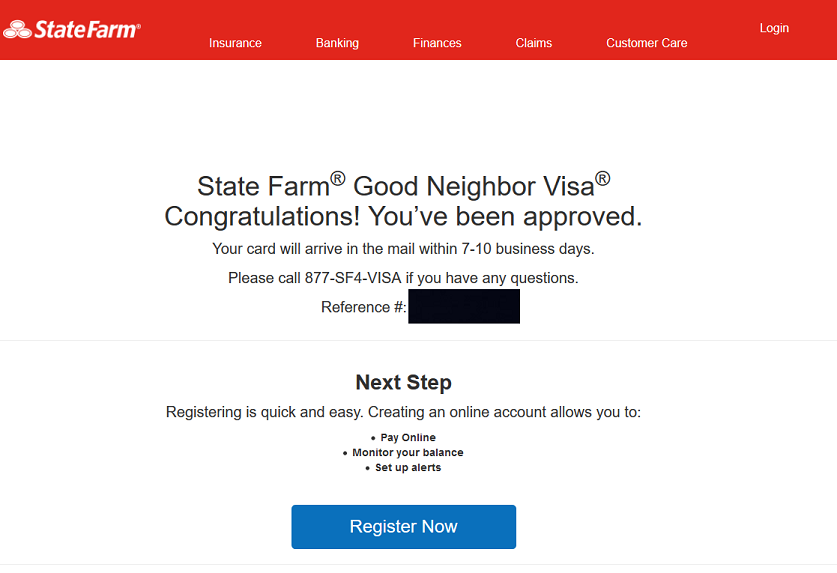 State farm good neighbor visa approved 15k myfico forums 5239288 credit cards are powerful but dangerous tools colourmoves