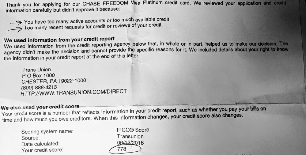 Chase Pre Approval >> Chase Pre Approved Green Check Mark Page 2 Myfico Forums 5277243