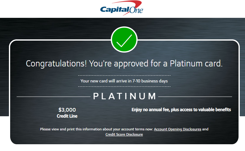 capital one credit card pre approval кредит под залог квартиры в московской области без справок и поручителей
