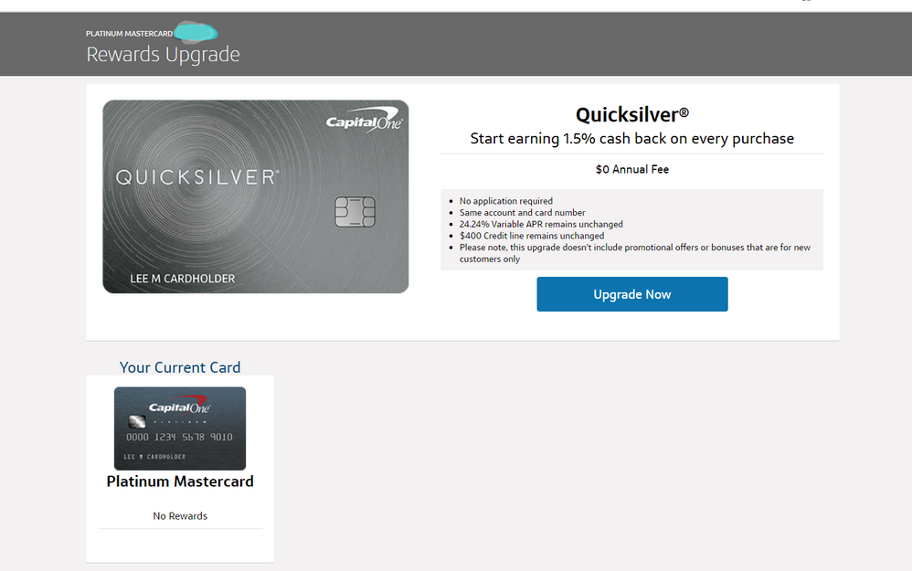 capital one quicksilver credit card phone number