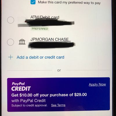 PayPal Credit - myFICO® Forums - 5378910