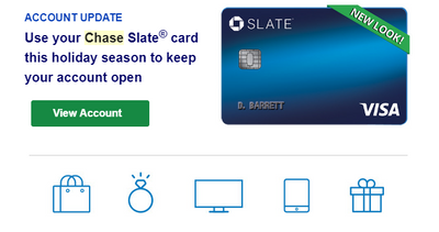 Chase Slate Credit Card - Christmas Spirit - myFICO® Forums - 5427617