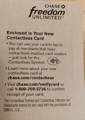 Chase cards are now contactless - myFICO® Forums - 5399612