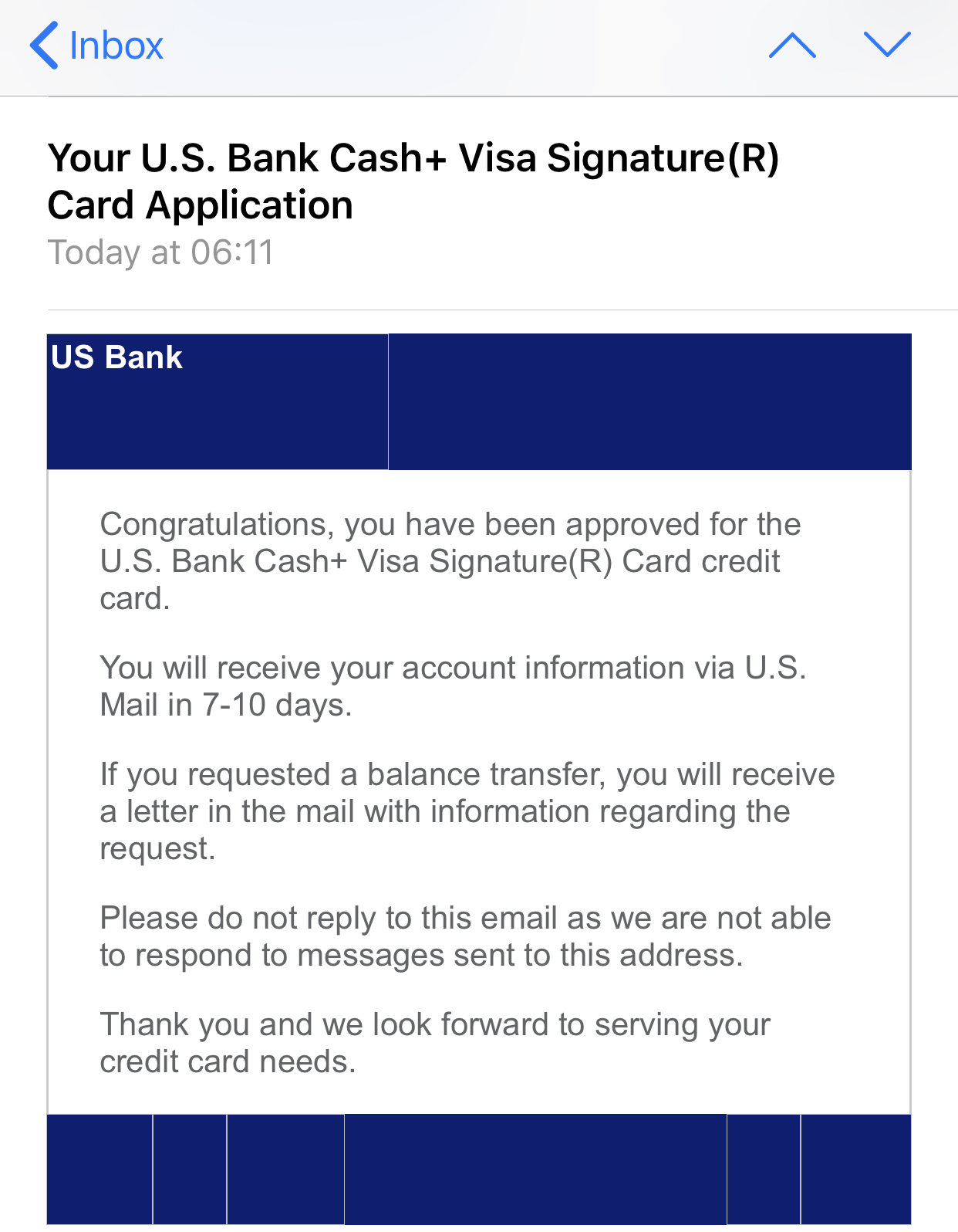 US Bank Cash+ | 7-10 day msg - APPROVED - myFICO® Forums