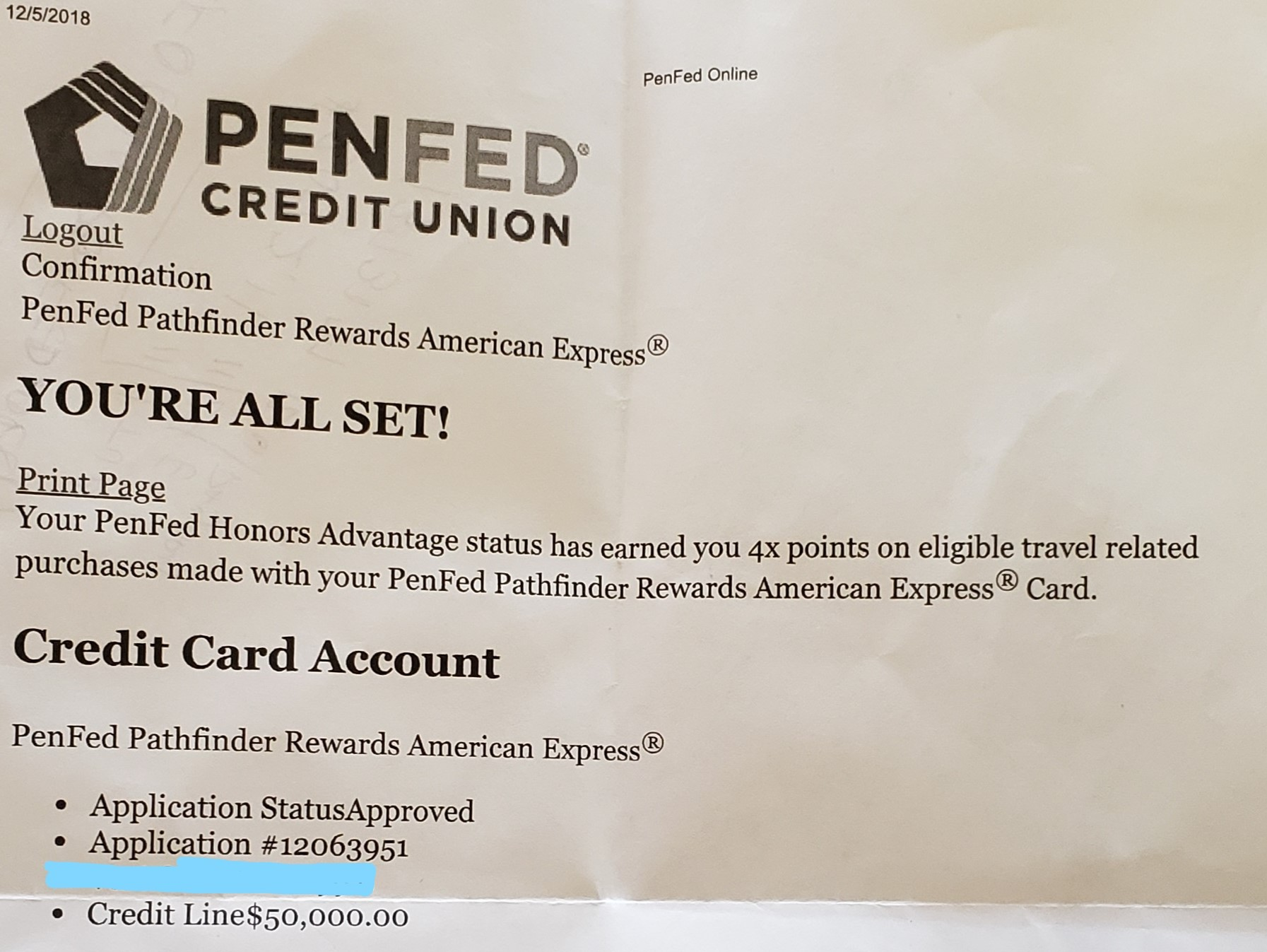 PenFed Approved!!!! - Page 4 - myFICO® Forums - 5426075