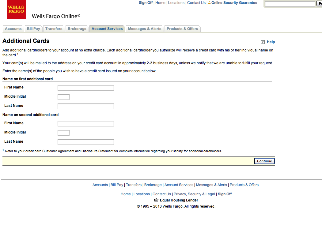 Proper Way To Add Authorized User Wells Fargo C Myfico Forums 2390951