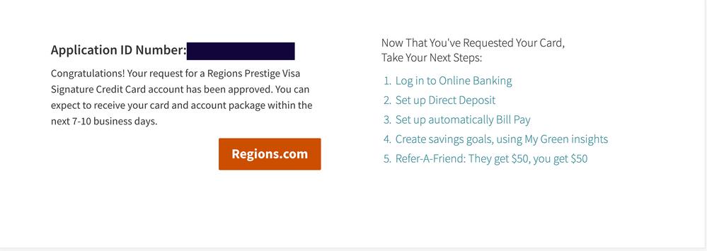 Regions approval   - myFICO® Forums - 5686598