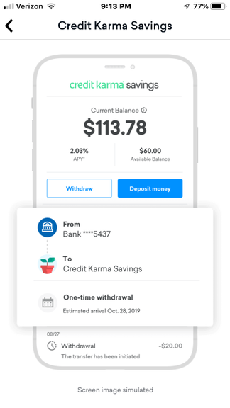 cant get into my credit karma account